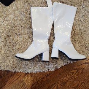 new women's sz 6 white Elle go-to wedge boot1